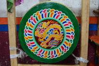 藏传佛教的龙纹鼓