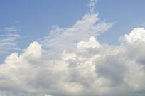 天空云彩摄影图