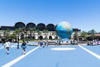 东京迪斯尼海洋入口广场