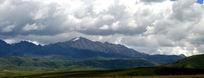 远眺雅拉雪山
