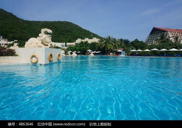 酒店游泳池图片