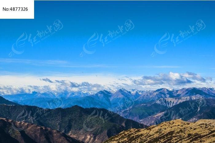 中国西部高原雪山图片