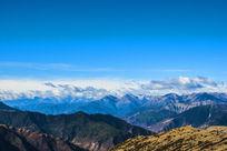 中国西部高原雪山