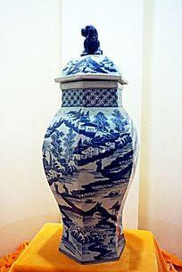古代青花瓷器