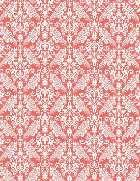 红白花纹背景