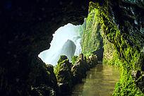 黄果树瀑布山洞