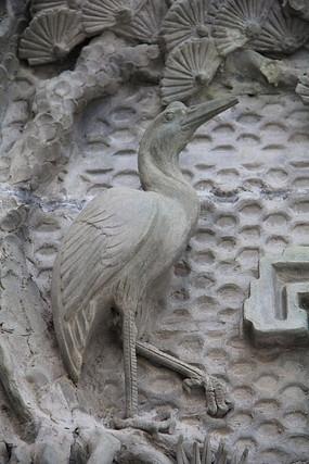 鸟类浮雕作品
