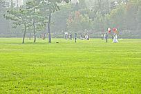 青岛汇泉广场风景