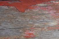 红色木板花纹背景