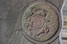 墻壁雕刻圖