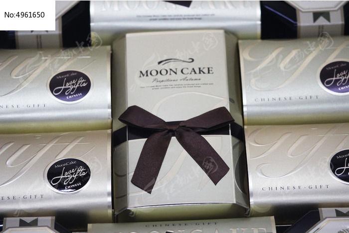 西式月饼礼盒包装图片