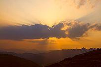 耶稣光云朵