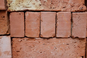 砖红色背景