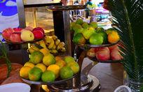 自助餐厅水果摆台