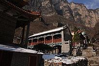 河南辉县南太行九莲山风景区后静宫寺庙建筑群