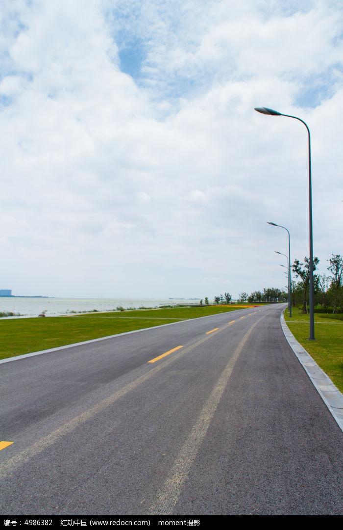 苏州湾公路素材图片