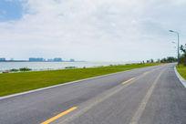 苏州湾美丽的马路