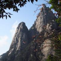 黄山山峰风光景色