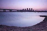 漂亮的沭河大桥