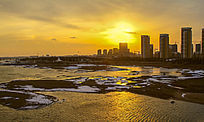 冬天的沭河