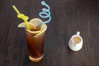 现做冻柠檬茶