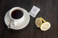 现做热柠檬茶