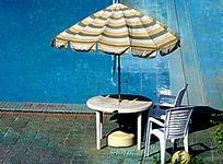 海南兰洋温泉露天泳池