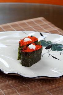 红蟹子寿司