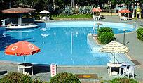 兰洋温泉露天泳池图片