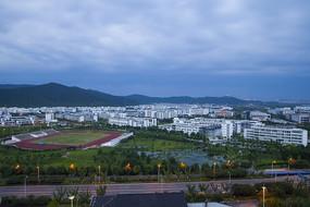 苏州国际教育园全景图
