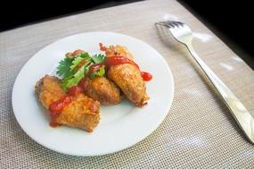 西餐炸香酥鸡翅