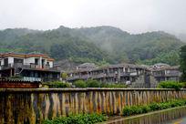 雨后青城山