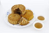 美味香甜的中秋月饼