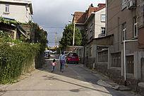 青岛的街道风景