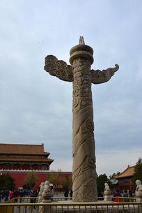 北京故宫华表