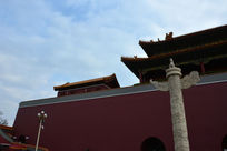 北京天安门城楼一角