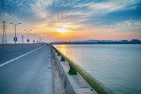 美丽的吴中区松陵大桥