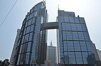 青岛招银大厦玻璃建筑