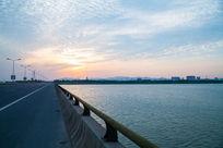 松陵大桥的风光