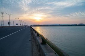 吴中区松陵大桥太湖