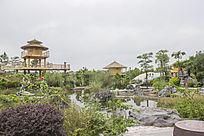 河池园民族特色园林建筑