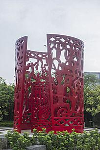 民族特色雕塑