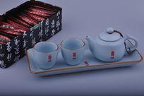 精美陶瓷茶具套装茶盒
