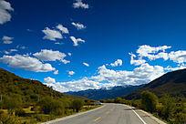 红原高原道路