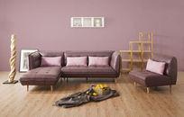 时尚现代风沙发背景家居图