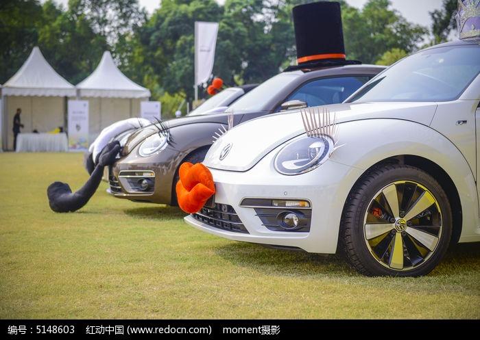 大众甲壳虫汽车特写图片