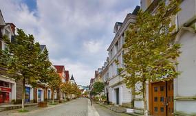 风情小镇街道