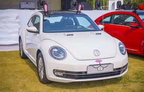 小白兔效果甲壳虫汽车
