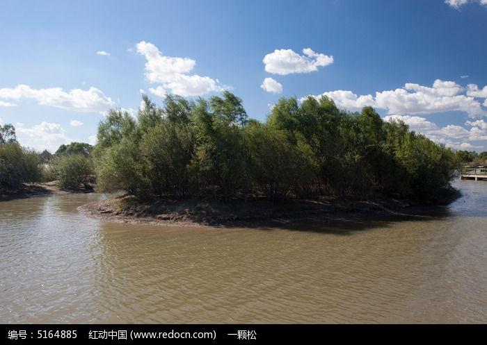 原生态湿地风光图片