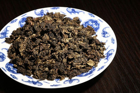 碳焙铁观音茶干